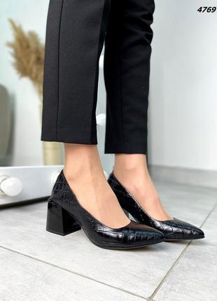 Туфли натуральная кожа7 фото