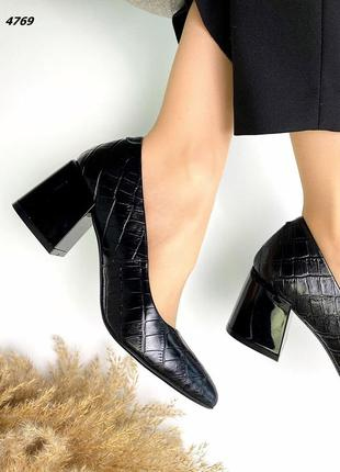 Туфли натуральная кожа10 фото