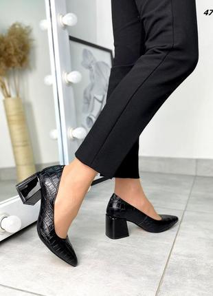 Туфли натуральная кожа3 фото