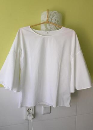 Белая блуза блузка cos2 фото