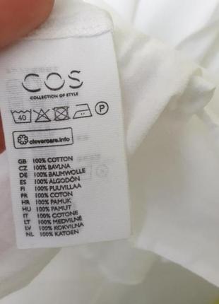Белая блуза блузка cos4 фото