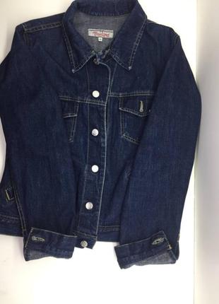 Унисекс шерстяная джинсовая куртка misswild