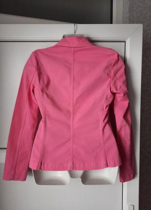 Пиджак, женский нарядный, легкий. united colors of benetton.5 фото