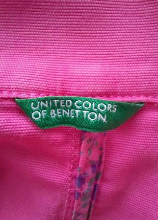 Пиджак, женский нарядный, легкий. united colors of benetton.6 фото