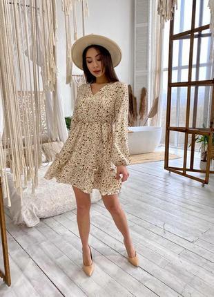 Воздушное свободное платье3 фото