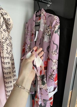 Пиджак в цветочный принт2 фото