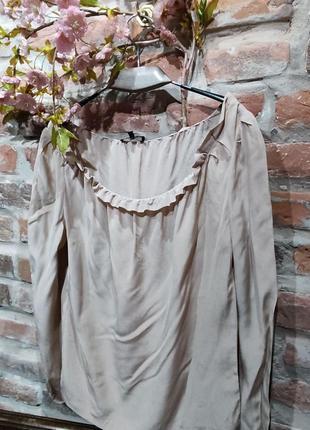 Шелковая блуза от премиум бренда