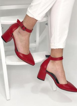 Шикарные туфли натуральная кожа новинка