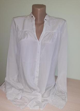 Шелковая блуза, италия1 фото