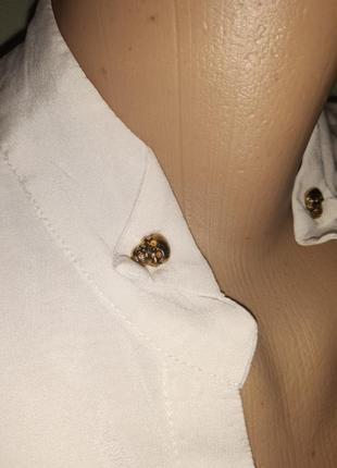 Шелковая блуза, италия2 фото