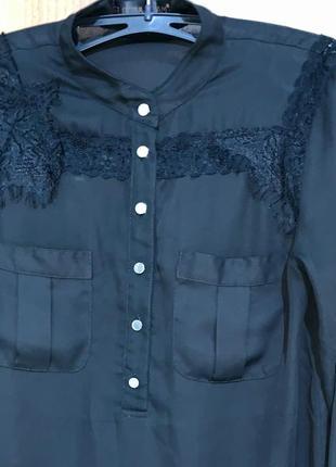 Женская блуза/блузка с красивым кружевом
