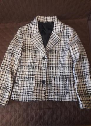 Пиджак, короткое пальто , в составе шерсть