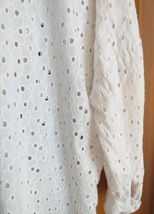 Блуза с перфорацией8 фото