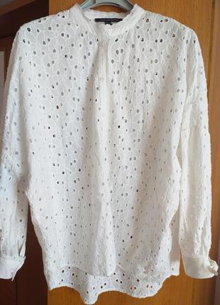 Блуза с перфорацией2 фото