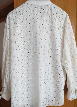Блуза с перфорацией7 фото