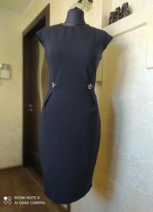 Платье миди massimo dutti