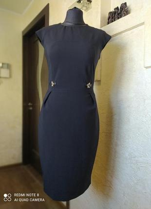 Платье миди massimo dutti1 фото