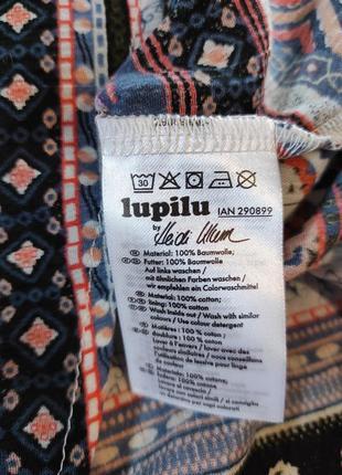 Платье из хлопка для девочки, 92, heidi klum by lupilu, германия7 фото