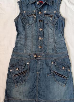 Платье джинсове стильне