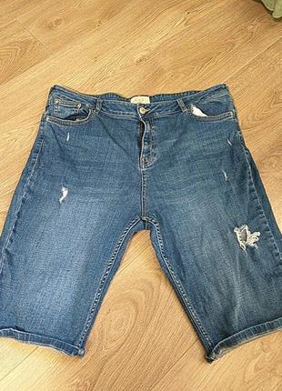 Шорти джинсові1 фото