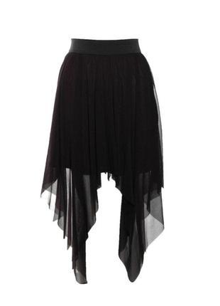Rare london стильная летняя легкая юбка р.s,m