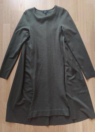Шикарное платье cos🔥 шерсть + коттон. акция!