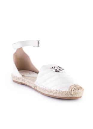 Женские белые босоножки,36-404 фото