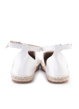 Женские белые босоножки,36-405 фото