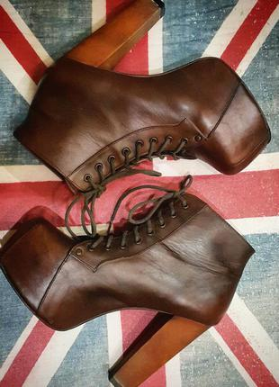 Ботильоны ботинки jeffrey campbell хорошее состояние!