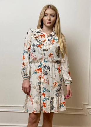 Новое красивое платье-рубашка dixie