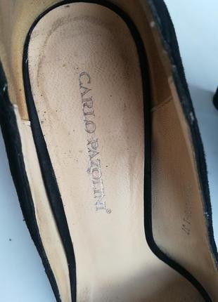 Carlo pazolini замшевые туфли 37 размер6 фото