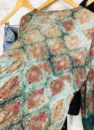 Блуза - рубашка оверсайз с глубоким v-образным вырезом10 фото