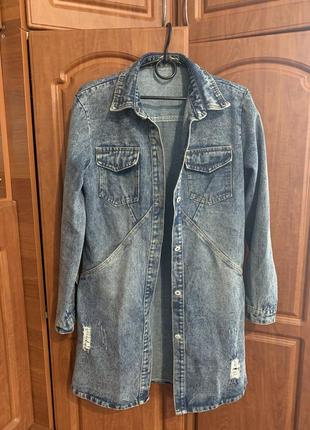Джинсовая куртка, джинсовка, куртка джинсова