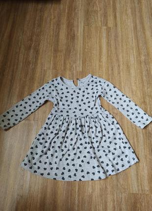 Платье для девочки 18- 24 мес