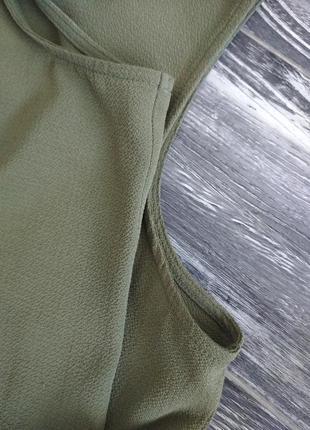 Топ, майка кольору хакі, розмір 46 євро5 фото