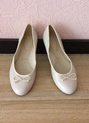 Туфли балетки clarks1 фото