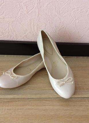 Туфли балетки clarks2 фото