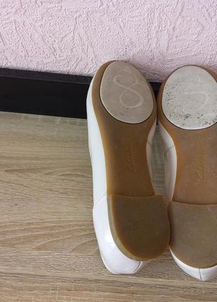 Туфли балетки clarks5 фото