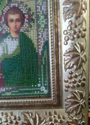 """Иконы бисером """"венчальные"""" (венчальная пара"""", """"спаситель"""" и """"богородица"""")4 фото"""