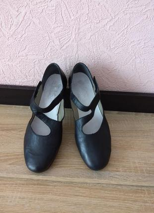 Туфли rieker -натуральная кожа