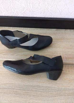 Туфли rieker -натуральная кожа4 фото