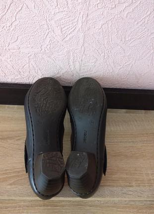 Туфли rieker -натуральная кожа6 фото