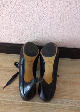 Туфли clarks -натуральная кожа5 фото