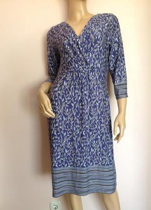 Трикотажное вискозное платье/l- xl/ brend marks& spencer