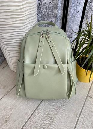 🔥 стильный рюкзак кожаный распродажа3 фото