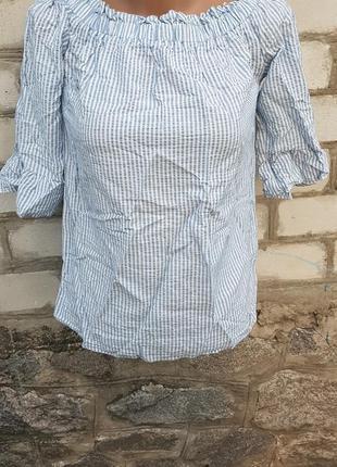 Блуза в полоску f&f