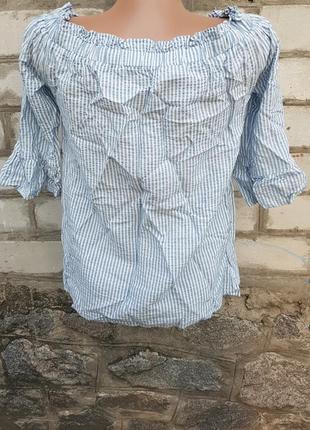 Блуза в полоску f&f5 фото