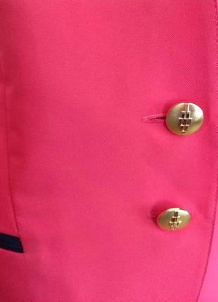 Розовый жакет с маечкой/xl/5 фото
