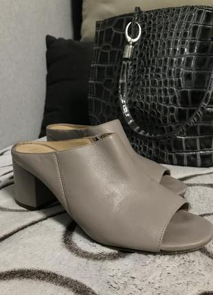 Стильные туфли шлепки тренд 2021