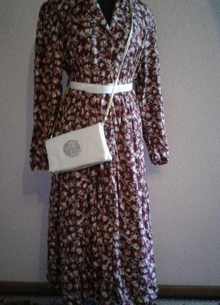 Платье макси 18 размер